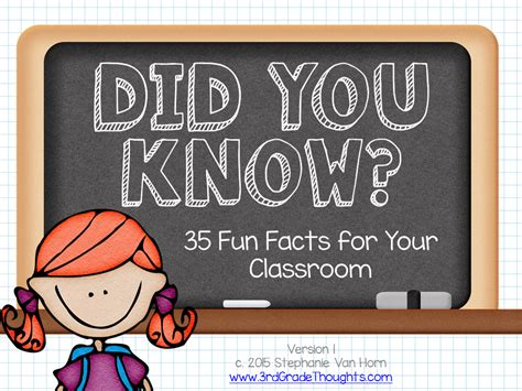 Did You Know Fun  Ee  Facts Ee   Rd Grade Thoughts