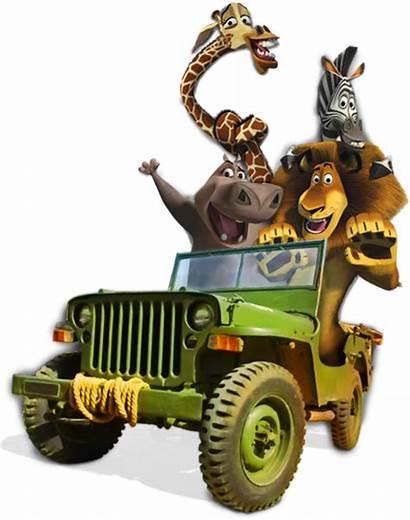 Madagascar Clipart Move Animals Going Mom Promo