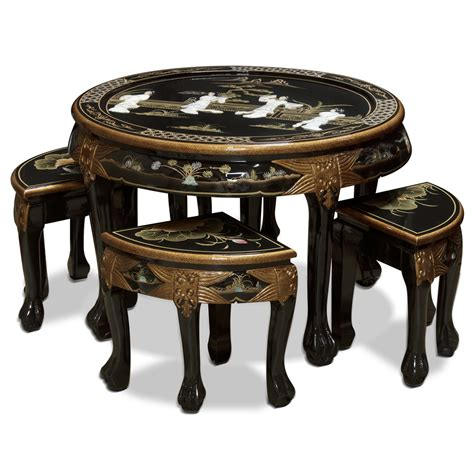 mother of pearl table l coffee tables and stool sets that guests are always