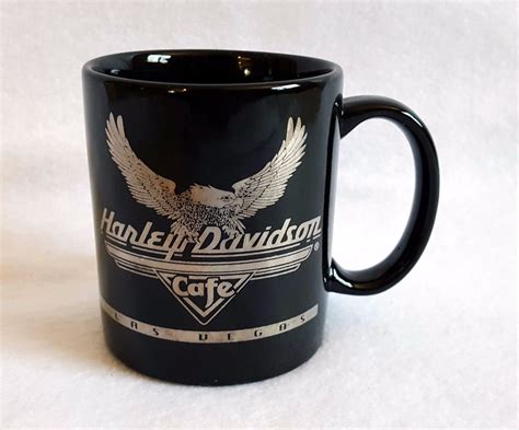 #1 of 2945 cafes in las vegas. Harley Davidson Cafe Las Vegas Black Gold Coffee Cup 12 oz ...