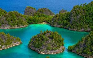 Landscape, Nature, Tropical, Islands, Turquoise, Sea, Green