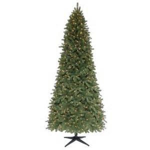 martha stewart living 9 ft pre lit downswept wimberly slim spruce artificial tree