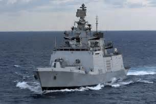 Shivalik Indian Navy Frigate