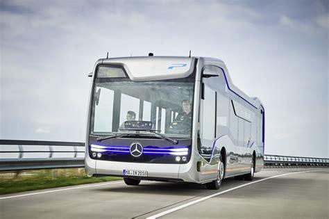 concept bus mercedes benz unveils autonomous bus concept