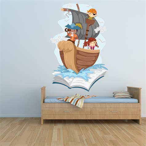 Wandtattoo Kinderzimmer Piratenschiff by Wandtattoos Folies Wandsticker Piratenschiff