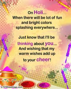 warm holi wishes free specials ecards greeting cards 123 greetings