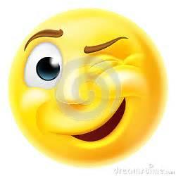 Winking Smiley-Face Emoji
