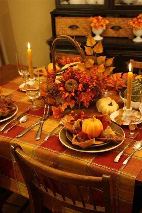 sweet  designs autumnal tablescape fall decor