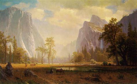 File:Albert Bierstadt-Looking up Yosemite Valley.jpg ...