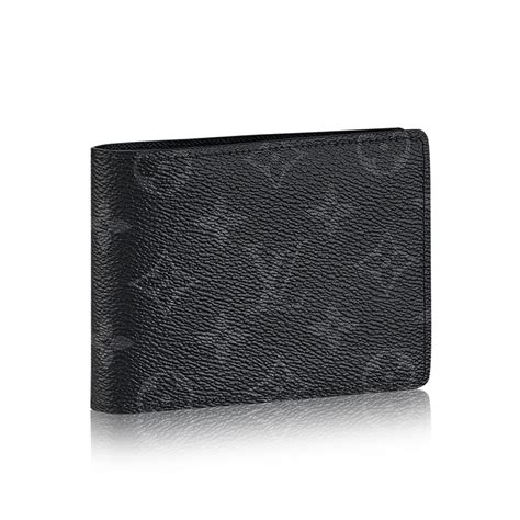 black louis vuitton wallet men card leather wallets  men multiple small lv wallet  men