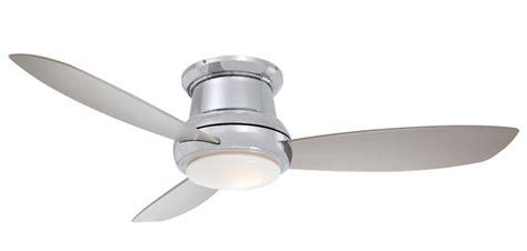 44 inch flush mount ceiling fans minka aire f518 bn 44 inch concept ii flush mount ceiling