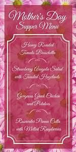 Mother's Day Supper Menu - Mom's Kitchen Handbook
