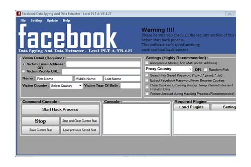 free download facebook software