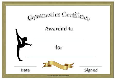 printable gymnastics awards customize
