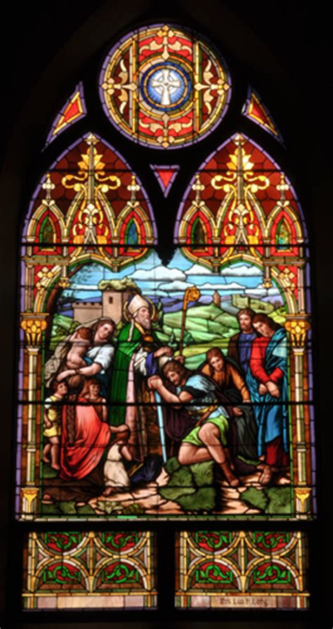 patron saint saint patrick catholic church