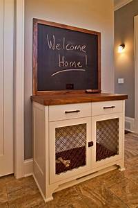25 best ideas about dog crate table on pinterest for Xl dog crate furniture
