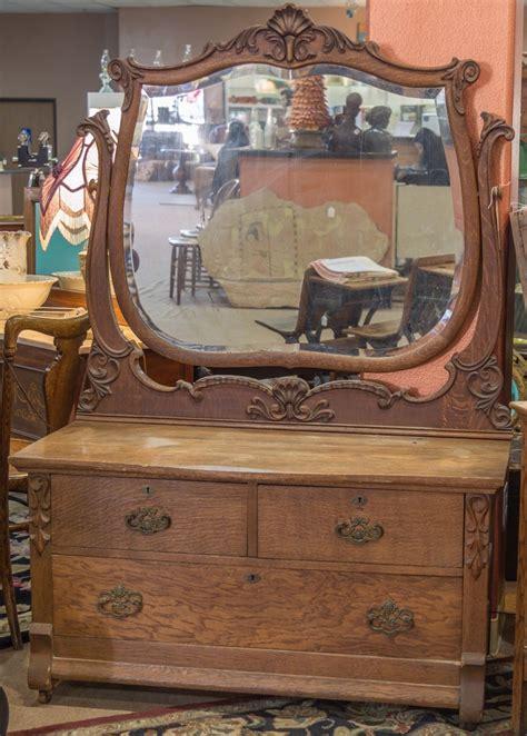 antique tiger oak dresser antique carved wood dresser