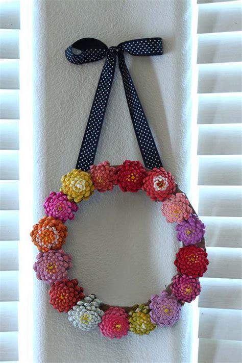 creative  adorable pine cone crafts ofriendly