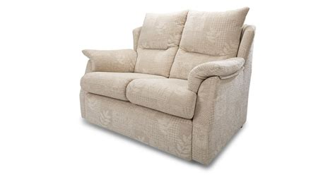 small two seater sofa dfs stow cream fabric small 2 seater sofa and manual