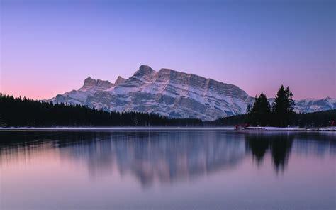 Download Wallpaper 3840x2400 Mountains Lake Sunset