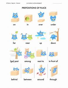 432 Free Preposition Worksheets  Teach Prepositions With Style
