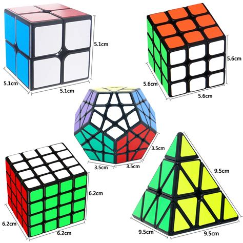 pack   coolzon speed cube set magic cube    pyraminx pyramid megaminx puzzle cube