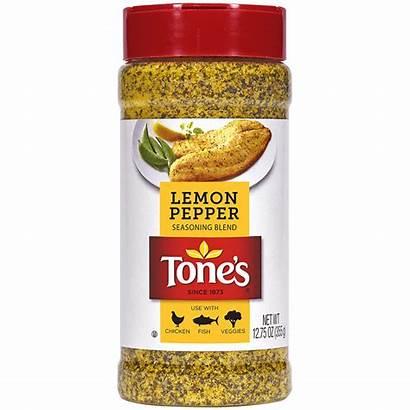 Pepper Lemon Seasoning Blend Tones Tone Coarse