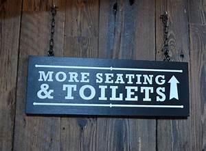 Wc, Signage