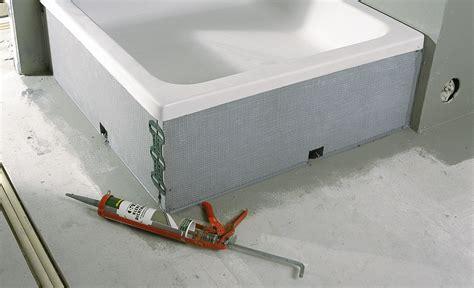 badewanne schuerze selber bauen abdeckung ablauf dusche