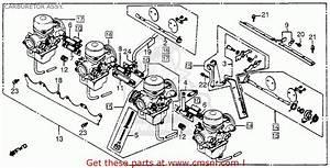 honda cb750c 750 custom 1981 b usa carburetor assy With 1981 honda cb750c wiring diagram