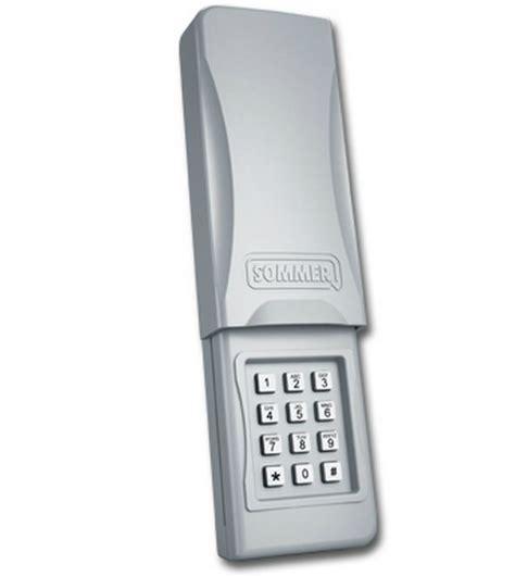 garage door opener keypad sommer 4078v001 garage door opener wireless keypad 310mhz