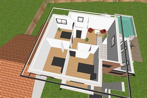 maison moderne avec piscine ext 233 rieure crea06