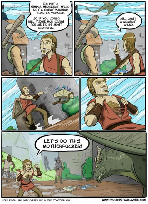 Bring It Skyrim Comics Gallery Elder Souls