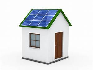 Panneau Solaire Gratuit : maison avec un panneau solaire sur le toit t l charger ~ Melissatoandfro.com Idées de Décoration