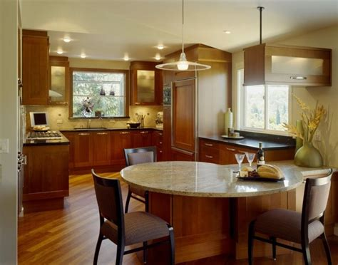 Kitchen Island Table India by Interior Most Efficient Kitchen Layouts With