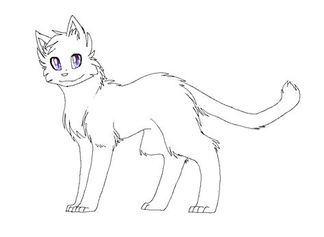 warrior cat template the gallery for gt cat clan lineart