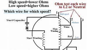 Fan Motor Capacitor Diagram