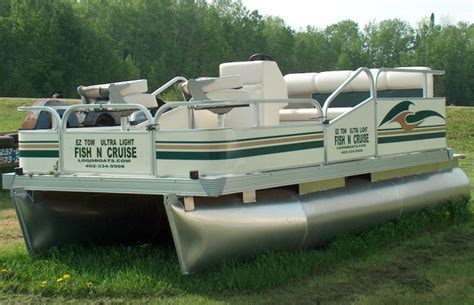 Mini Pontoon Boats For Sale Mn by Fisherman 7 Foot Wide By 13 6 Foot Pontoon Boat With