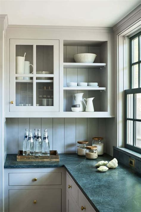 romantic  welcoming grey kitchens   home