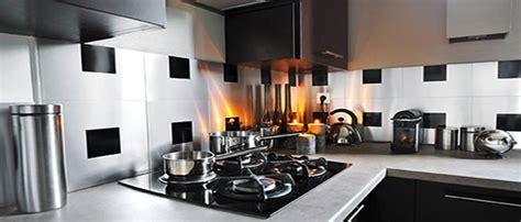 adhesif deco cuisine credence cuisine verre decor carrelage metro blanc