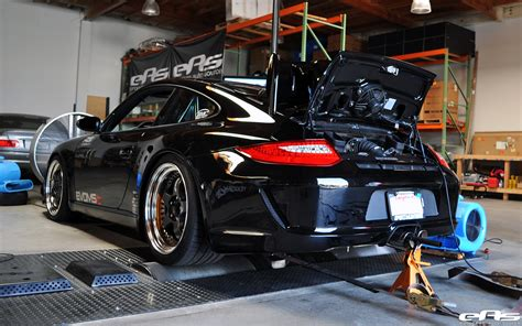 Porsche Parts by Jet Black Porsche 997 On The Dyno Bmw Performance Parts