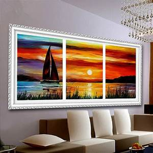 Coloring by numbers acrylic paint for painting scenery for for Cheapest paint color