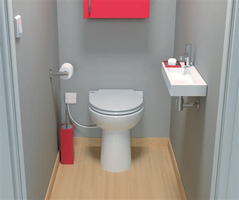 Bathroom Design Using Saniflo Toilets