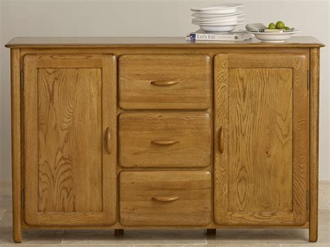 Large Sideboard Oak by Osaka Rustic Solid Oak Large Sideboard Dining Room Furniture