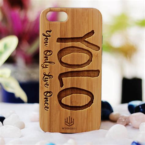 Personalised Wooden Phone Cases; Make Your Own Custom