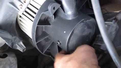 replace lincoln town car blower motor youtube