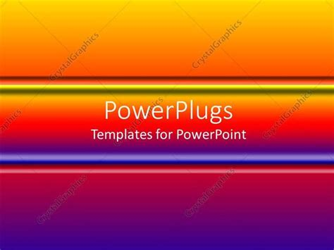 centered navigation bar template powerpoint template gradient of purple to orange with