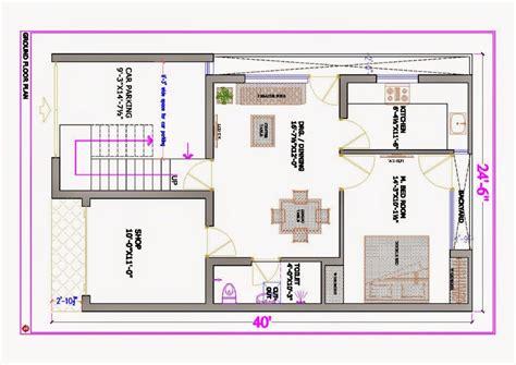East Facing House Plan 30x40