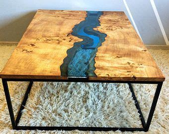Live Edge River Coffee Table  Table  Pinterest Live