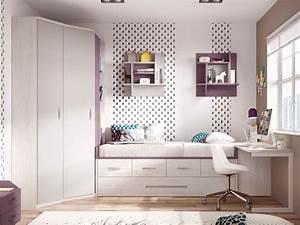 Chambre Fille Ado : chambre enfant fille avec lit gigogne glicerio so nuit ~ Teatrodelosmanantiales.com Idées de Décoration